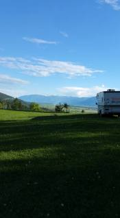RVing on Blacktail Ridge