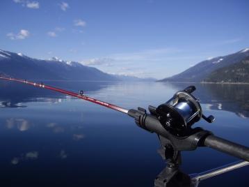 A Day of Fishing on Kootenay Lake