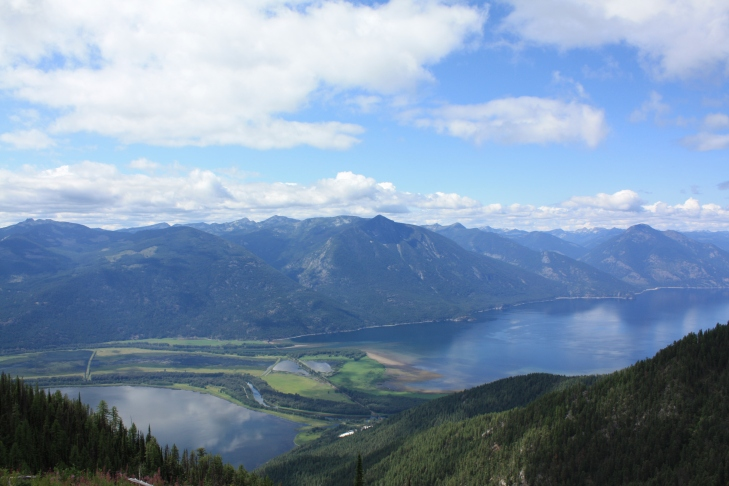 Over looking Kootenay and Duck Lakes on an ECO Tour